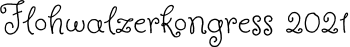 Flohwalzerkongress Logo